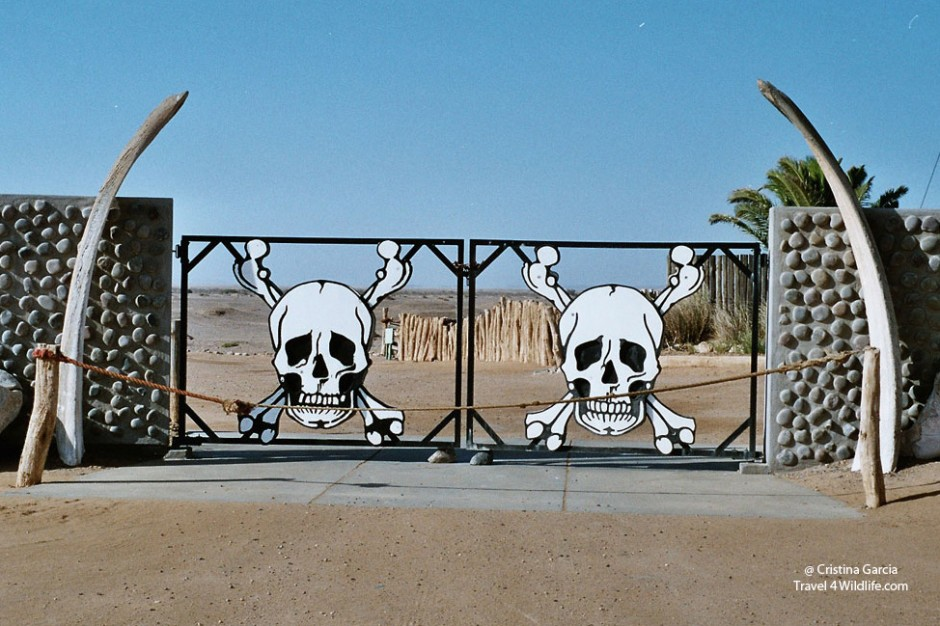 Ugab Gate (entry point to the Skeleton Coast Park)