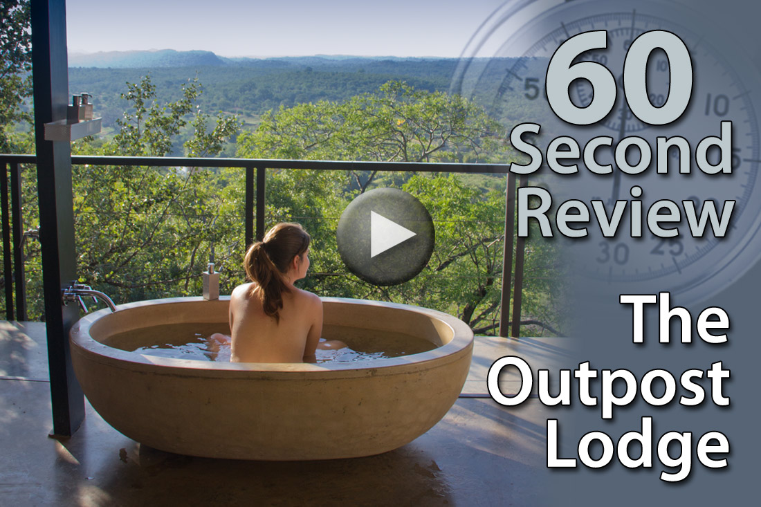 Lodging Review: The Outpost in Kruger National Park, South ...