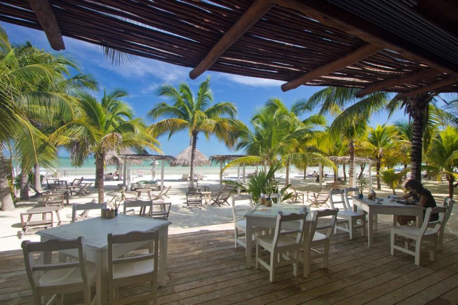 View from Mandarina Restaurant