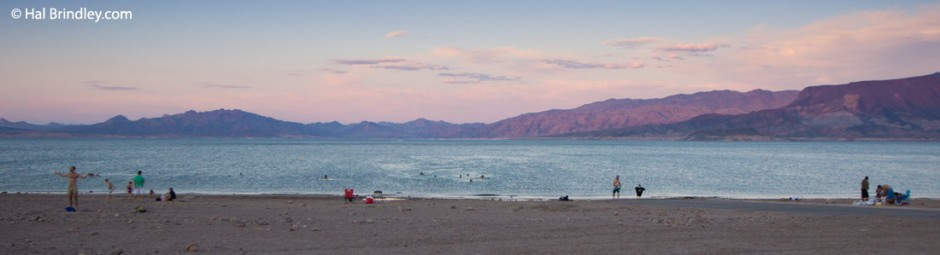 My bathtub: Lake Mead, Nevada