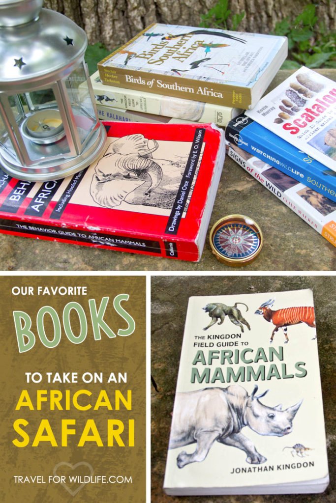 These are the books we always take with us when we go to Africa. Yes, they're heavy, but totally worth it. If you're going on an African safari, these are the books to take with you!