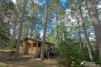 One of the rental cabins at Timber Bay