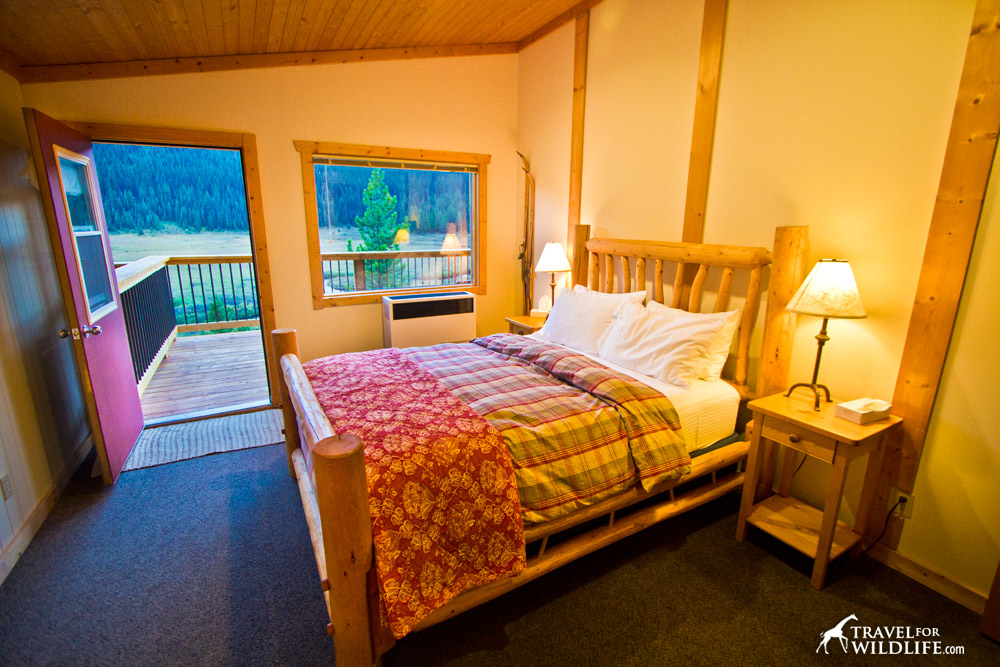 The best bedroom views in Alberta can be found at Moutn Engadine