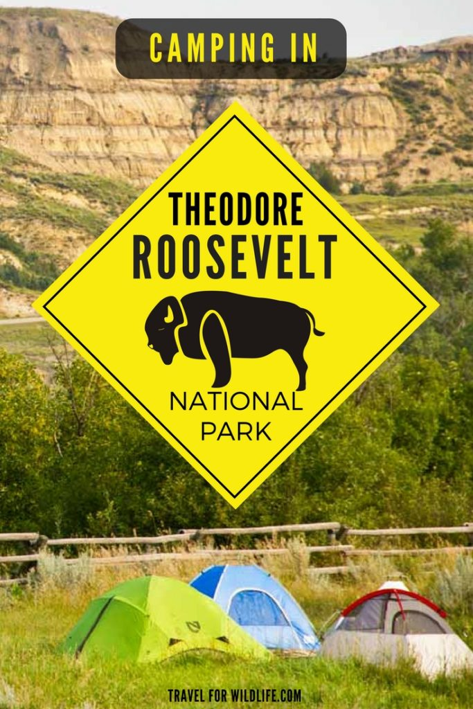 Campint in Theodore Roosevelt National Park