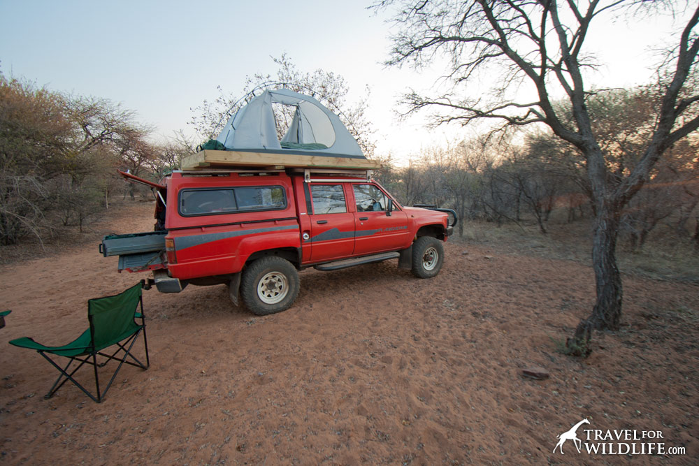 Camping in the Central Kalahari
