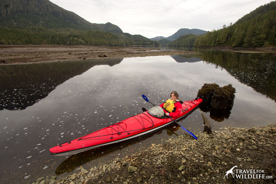 Happiness is kayaking in the Great Bear Rainforest