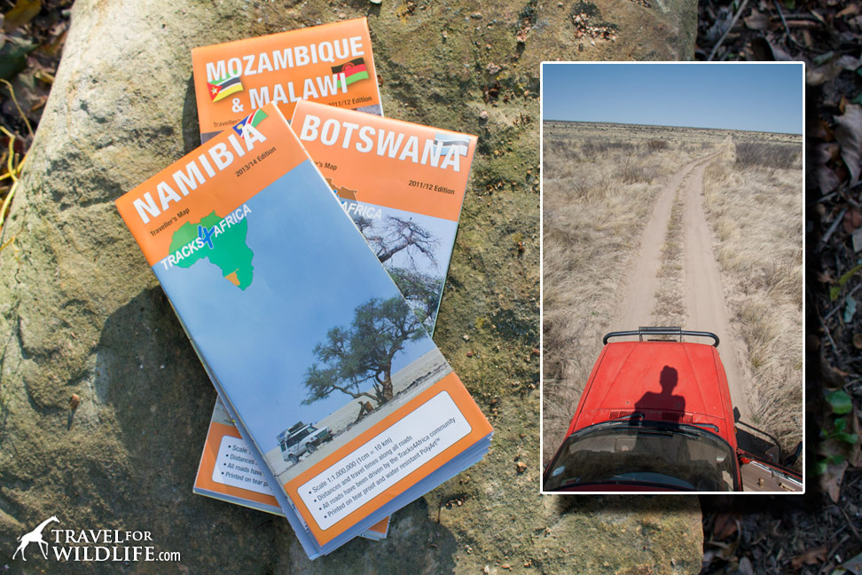 You need a Tracks4Africa map for your self-drive safari adventure