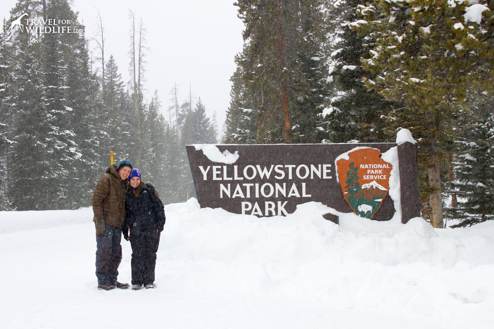 Nort east gate to Yellowstone