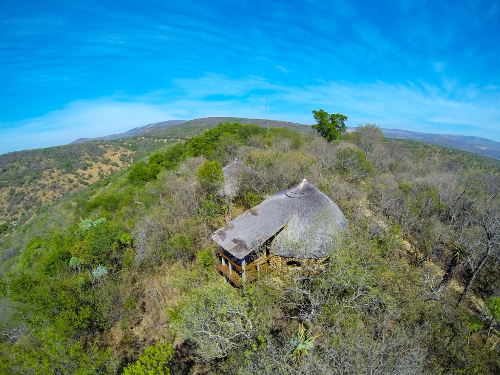 Our own private Zulu hut for a couple of nights