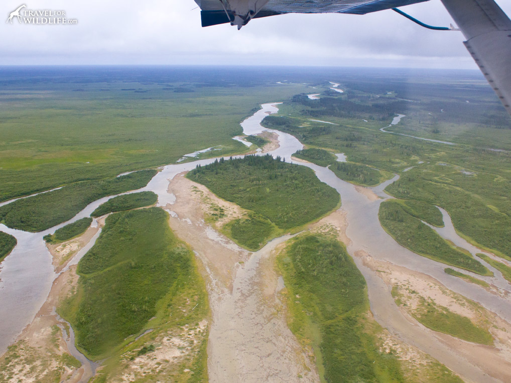 Wapusk NP from the air
