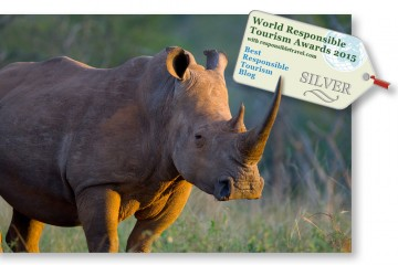 best responsible tourism award, silver medal, Travel For Wildlife
