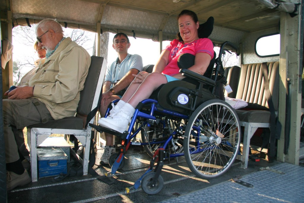 Accessible safari vehicle