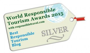 Travel For Wildlife wins Silver Award for Best Responsible Tourism Blog 2015