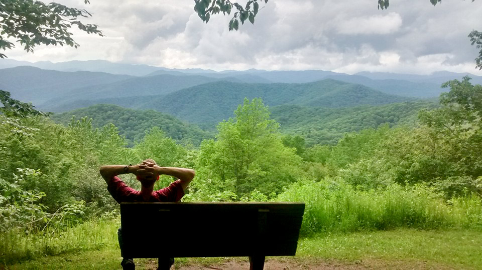 Go camping in the Smokies and have views like this for yourself