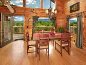Interior of the Gatlinburg cabin
