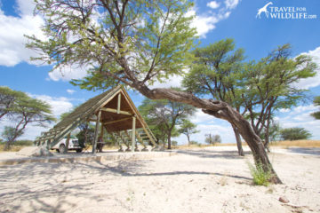 camping in Botswana National Parks