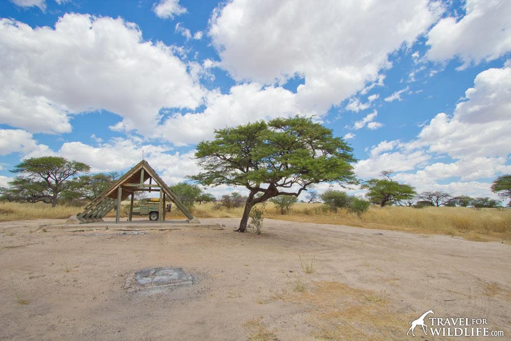 Boso 2 (Bosobogolo campsite 2) KTBOS02 Mabuasehube, Kalahari Gemsbok Park, Botswana