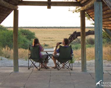 Kalahari camping in Botswana, Mabuasehube campsites, Kalahari Safari