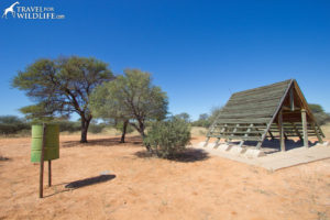 Entrance Gate Campsite 1 (KTENT01) Mabuasehube, Kgalagadi Transfrontier Park, Botswana