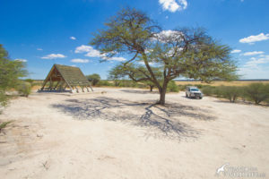 Khiding campsite 2, Kalahari camping in Botswana