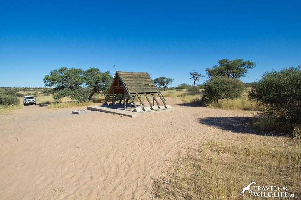 Mabuasehube campsite, Lesholoago 1 (KTLES01), Kgalagadi Transfrontier Park, Botswana