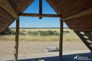 Lesho 01 campsite, Mabuasehube