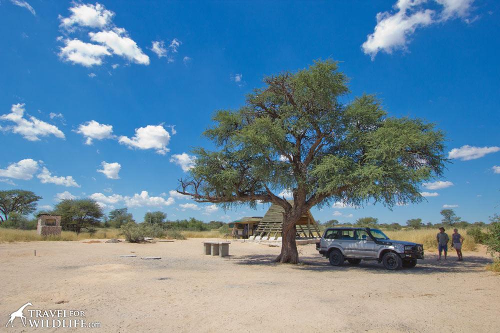 Lesho 2 (Lesholoago Campsite 2) KTLOS02, Mabuasehube, Kgalagadi Transfrontier Park, Botswana