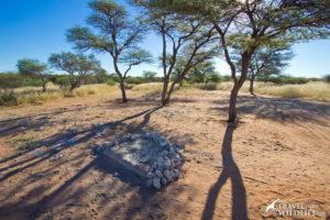 Mabua 1 camp site, Mabausehube, Kalahari camping, Botswana