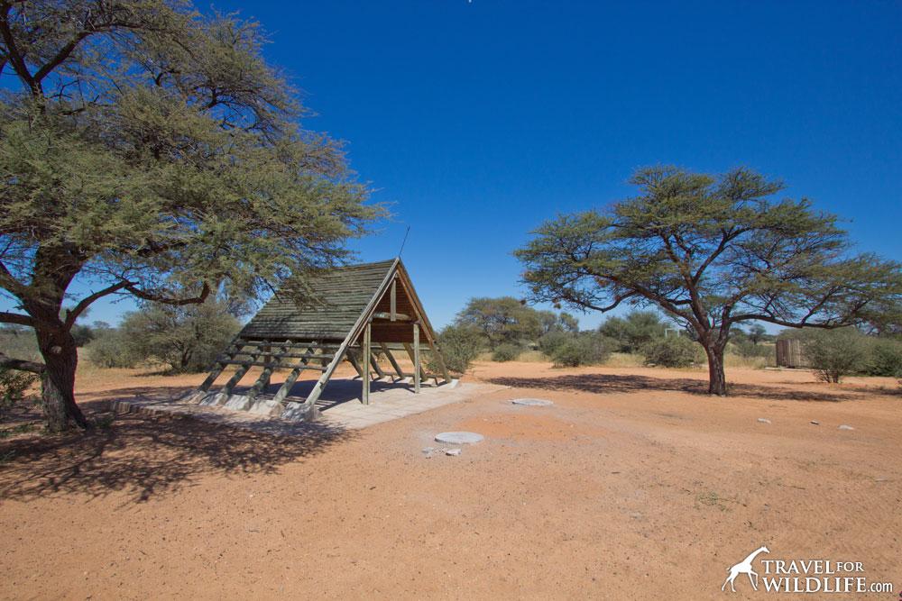 Monamodi Campsite 02 (KTMON02) in Mabusehube, Kgalagadi Transfrontier Park, Botswana