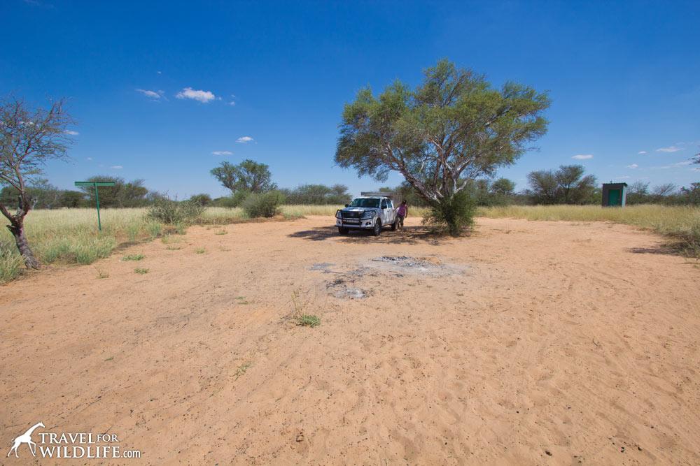 Matopi site 2, camping in Botswana