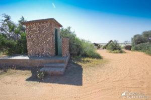 Long drop toilet at Mpaythutlwa site 1