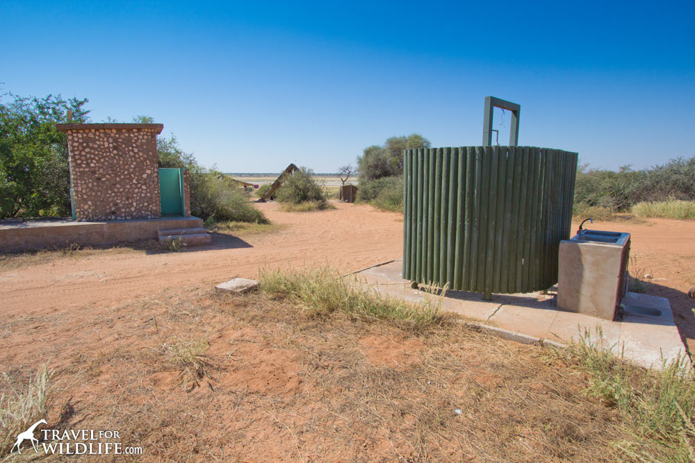 Shower and toilet, Mpathutlwa site 1