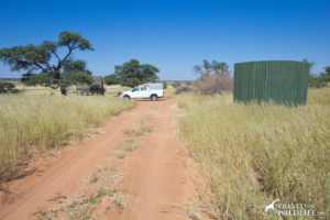 Mpaya site 2, Mabuasehube camping in Botswana