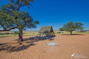 Mpaya 02 camping site, Mabuasehube, Botswana