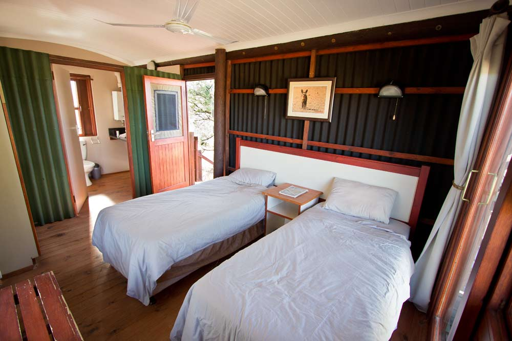 Chalet bedroom at Urikaruus