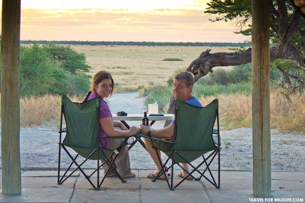 Mabuasehube camping, Kgalagadi Transfrontier Park, Botswana