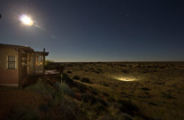 Kalahari Desert at night