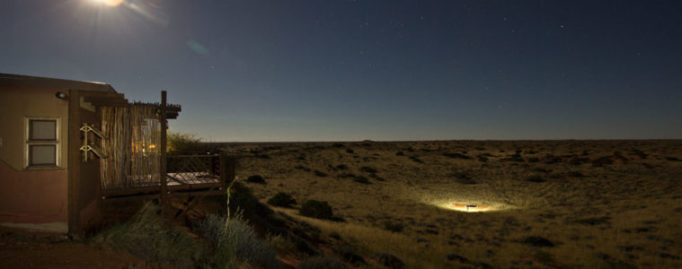 Kalahari Desert at night