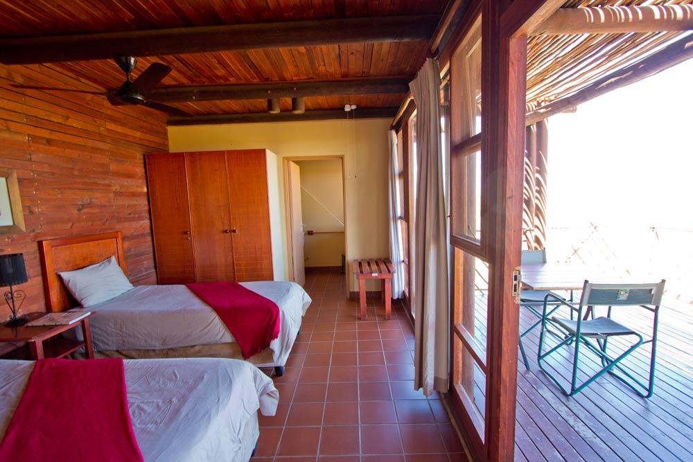 Kieliekrankie cabin bedroom