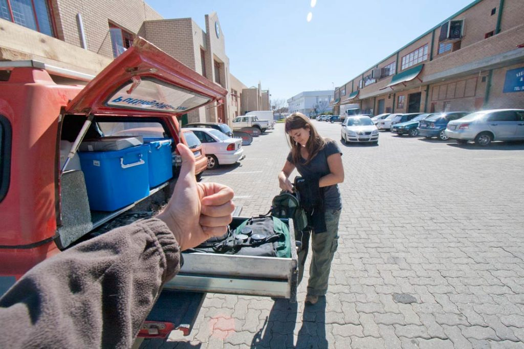 Is South Africa safe? keep your valuables locked in the car trunk!