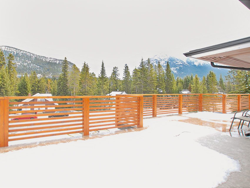 Banff cabins offer great mountain views