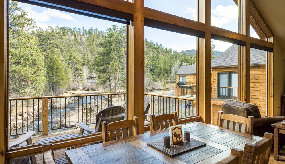 Estes Park Cabin on the river