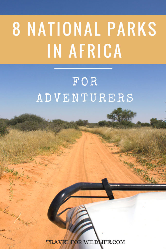 African National parks for adventurers