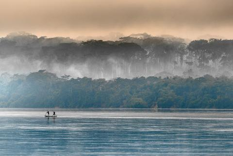 Fishermen on the Congo River