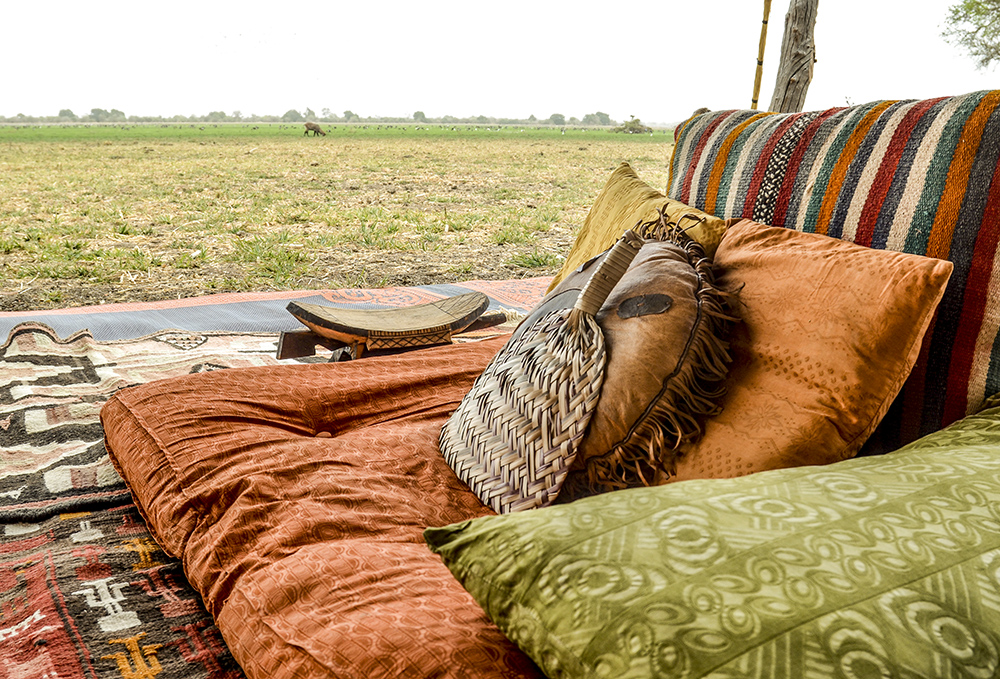 Luxury safari at luxury Camp Nomade