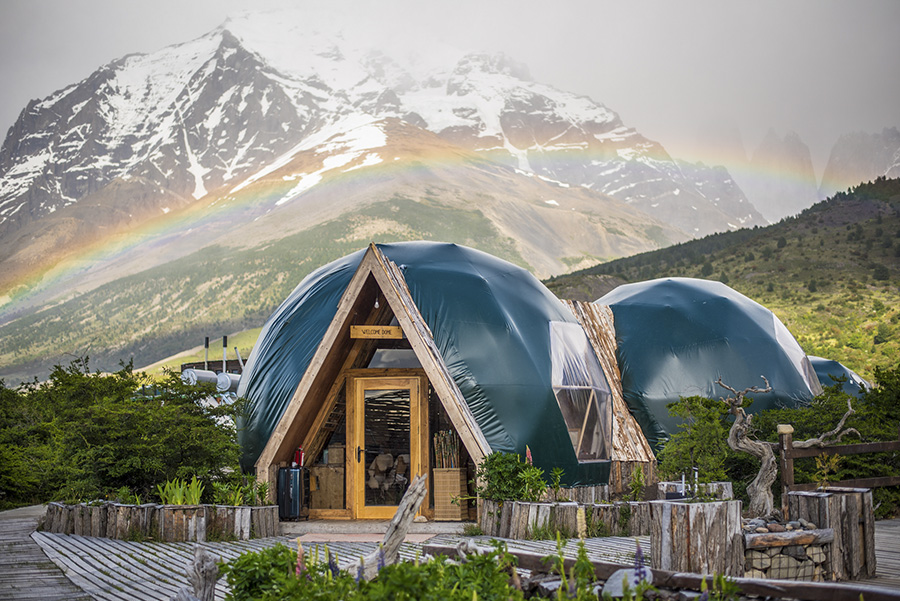 EcoCamp is a Patagonia eco lodge