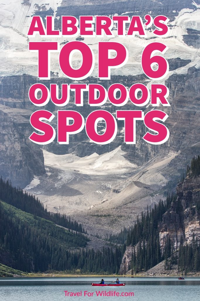 With the beautiful Rockies cutting right through the province of Alberta, no wonder why the best places to visit in Alberta are in the great outdoors. Banff, Lake Louise, Waterton Lakes,... make sure you add these top spots in Alberta to your Canadian road trip! #Alberta #Canada #outdoor