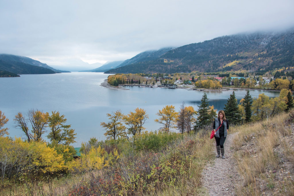 Hiking in Waterton National Park