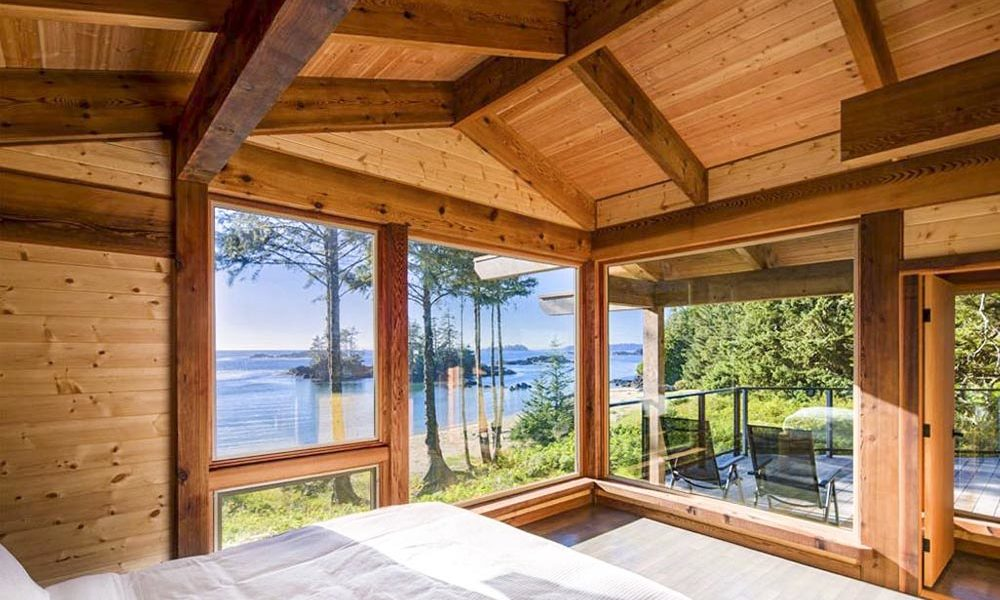 Ucluelet accommodation with a view