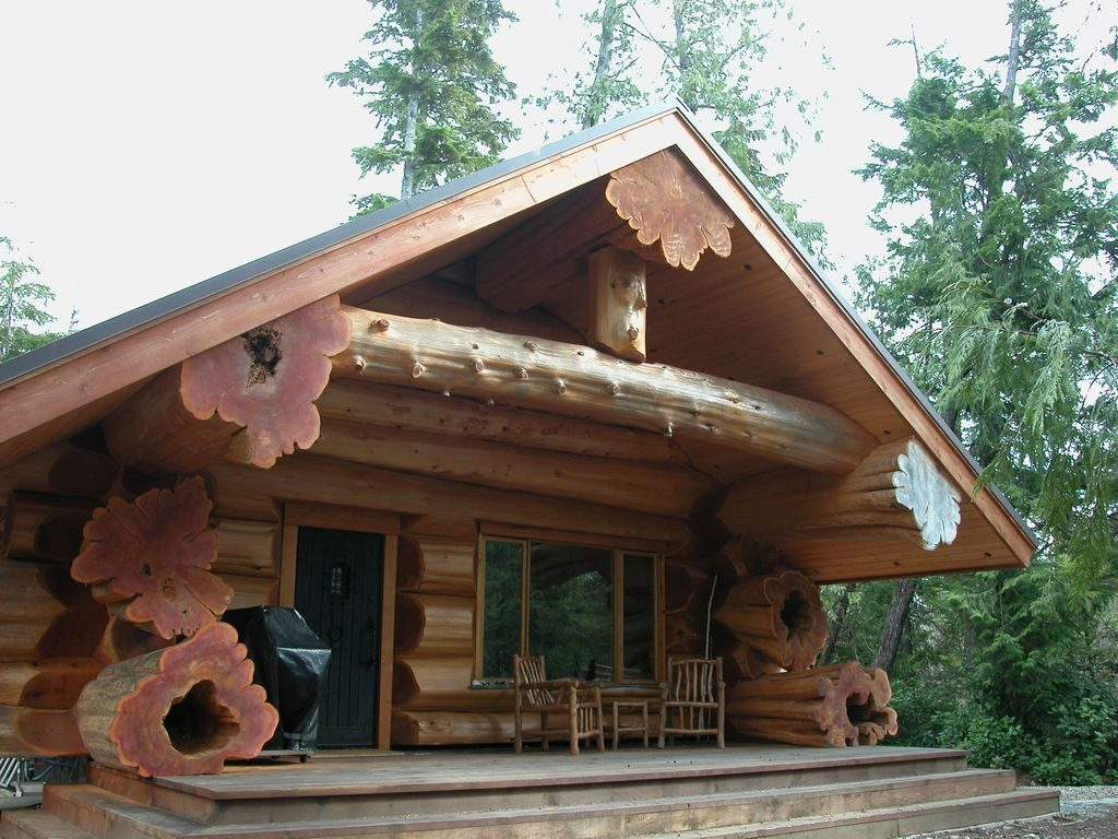 Ucluelet cabin rentals with hot tub